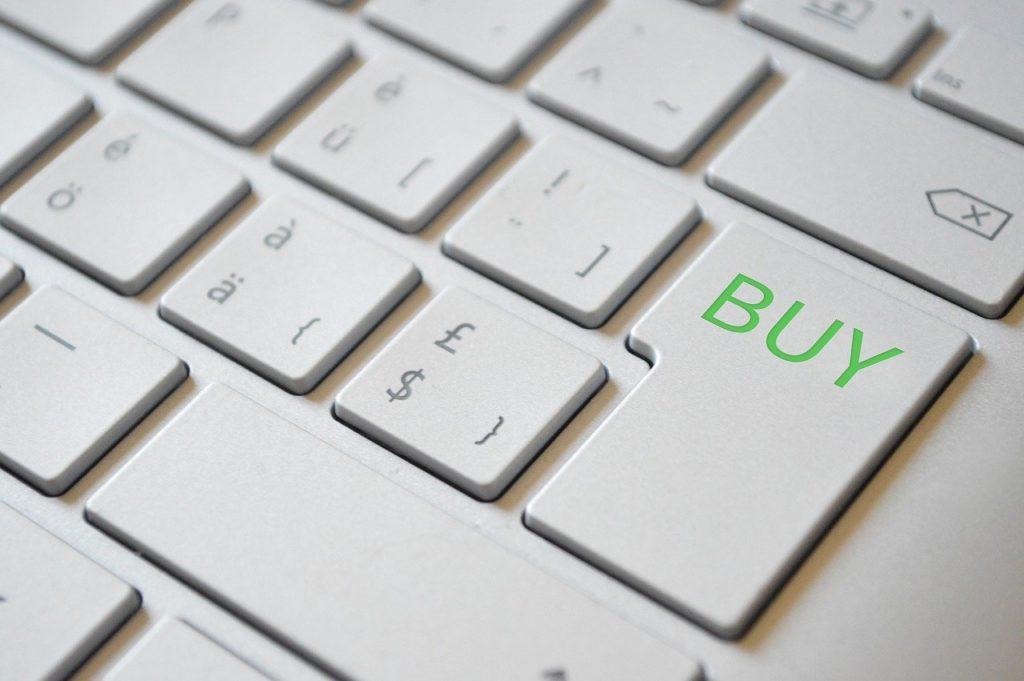 オンラインショッピング キーボード BUY 購入 eコマース