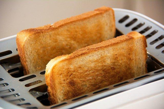 トースト 焦げた